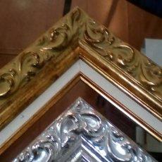 Antigüedades: PAREJA DE MARCOS PARA MEDIDA 11X18 DE CHECA GALINDO. NUEVOS. SIN FALTAS. ALTA CALIDAD.. Lote 100264771