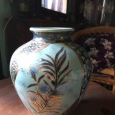 Antigüedades: JARRÓN DE PORCELANA CHINA, SELLADO.. Lote 100280358