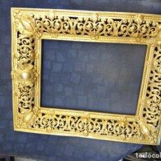 Antigüedades: CUADRO DE BRONCE ANTIGUO . Lote 100304183