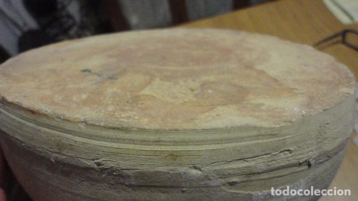 Antigüedades: ANTIGUO COMEDERO DE AVES.BARRO COCIDO.ALFARERIA POPULAR.CATALUÑA.AÑOS 40,50 - Foto 6 - 100338223
