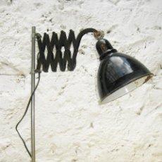 Antigüedades: PRECIOSA LAMPARA ANTIGUA CIRCA 1900 ATELIER IDEAL USO DECORACION INDUSTRIAL EXTENSIBLE . Lote 100391615