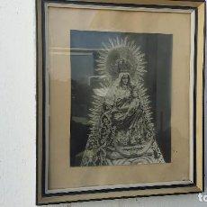 Antigüedades: CUADRO LAMINA VIRGEN. Lote 100435551