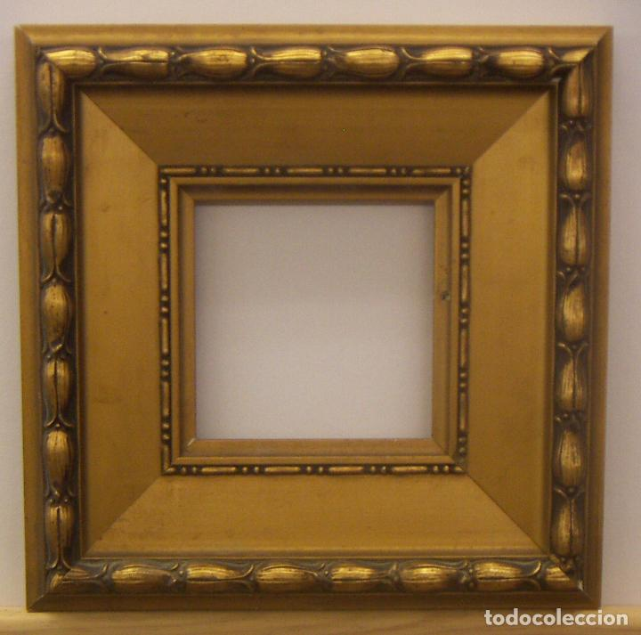 antiguo marco de madera y pan de oro - Comprar Marcos Antiguos de ...
