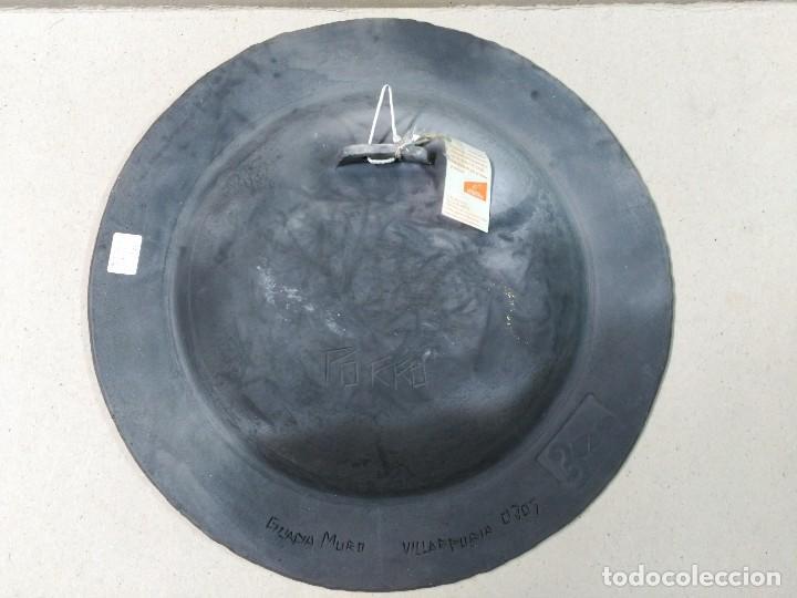 Antigüedades: PLATO DE DON QUIJOTE Y SANCHO PANZA DE CERAMICA GUADIAMURO - Foto 10 - 100508975