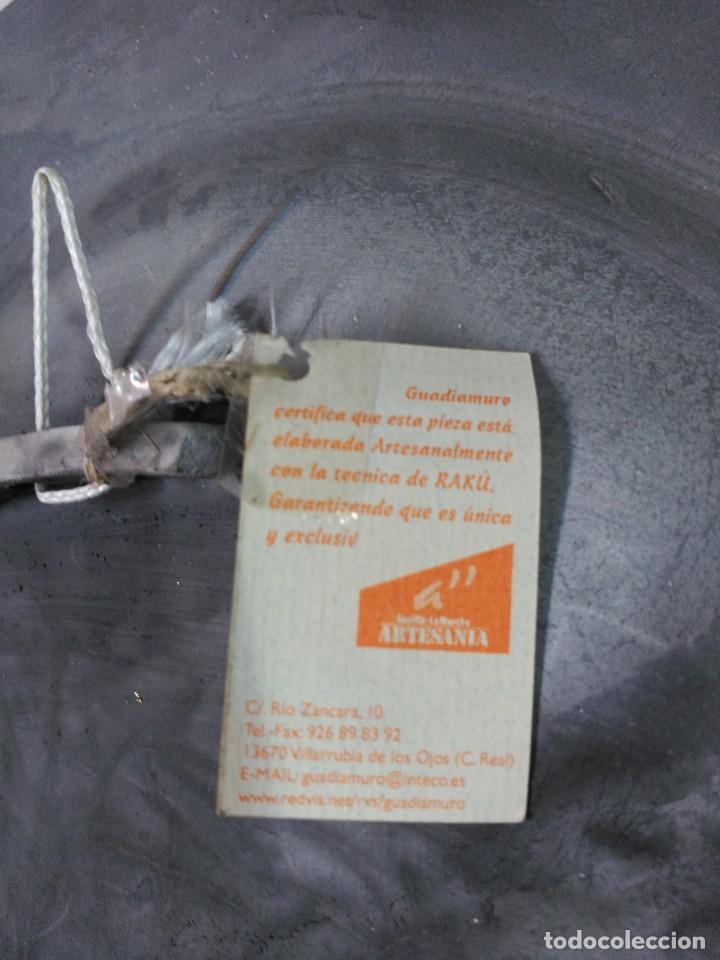 Antigüedades: PLATO DE DON QUIJOTE Y SANCHO PANZA DE CERAMICA GUADIAMURO - Foto 15 - 100508975
