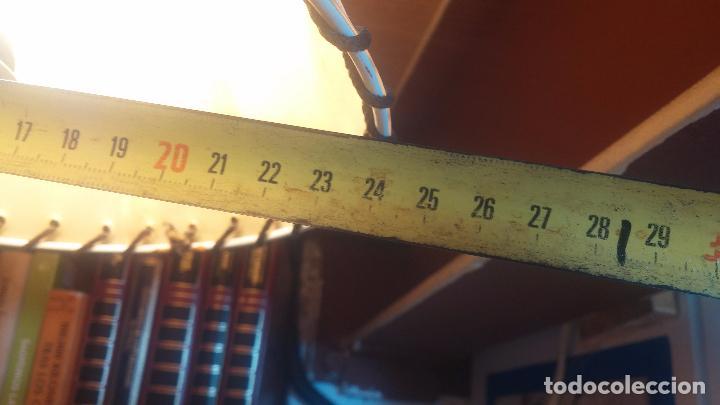 Antigüedades: Estupenda lampara de sobremesa en madera, muy acogedora. - Foto 19 - 100554723