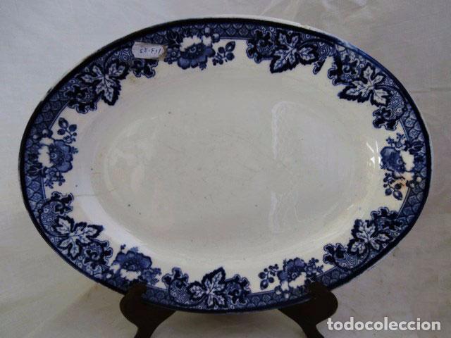 BANDEJA CERAMICA PICKMAN (Antigüedades - Porcelanas y Cerámicas - La Cartuja Pickman)