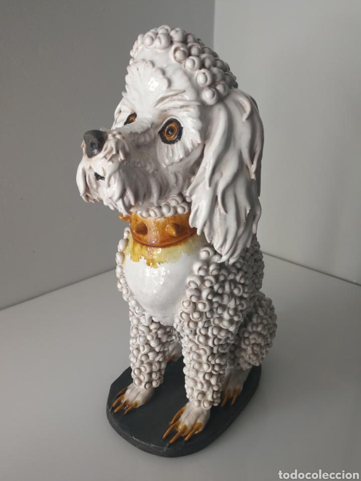 ALGORA - IMPRESIONANTE PERRO DE CERAMICA VIDRIADA - MODELO UNICO - SELLADO (Antigüedades - Porcelanas y Cerámicas - Algora)