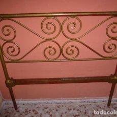 Antigüedades: ANTIGUO CABEZAL DE CAMA DE HIERRO . Lote 100595507