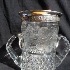 Antigüedades: JARRA Y PLATA. Lote 100599627