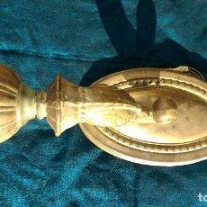 Antigüedades: APLIQUE DE PARED SIN EL GLOBO DE CRISTAL POR SÓLO DOCE EUROS. Lote 100614527