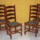 Antigüedades: 6 SILLAS DE ROBLE.REF 6109. Lote 100628351