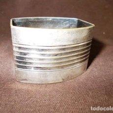 Antigüedades: ANTIGUO SERVILLETERO PLATEADO . Lote 100633147