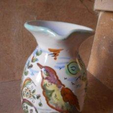 Antigüedades: JARRA CERAMICA SANTA FE. PUENTE DEL ARZOBISPO TOLEDO. Lote 100637115