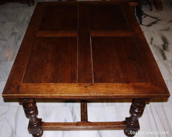 mesa para comedor, roble macizo. ref.6113 - Comprar Mesas Antiguas ...