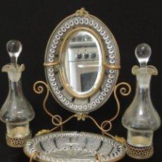 Antigüedades: PERFUMERO-ANILLERO 1900. Lote 100661127