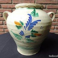 Antigüedades: ALFARERÍA ANDALUZA: ORZA DE LUCENA. Lote 100713903