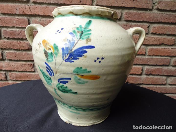 Antigüedades: Alfarería andaluza: Orza de Lucena - Foto 4 - 100713903