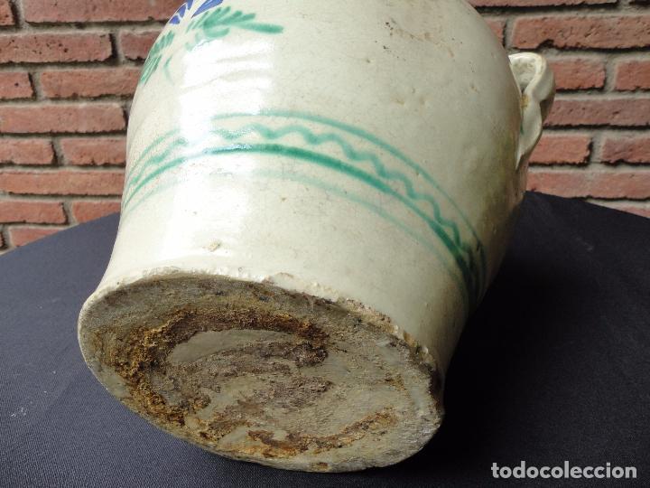 Antigüedades: Alfarería andaluza: Orza de Lucena - Foto 6 - 100713903
