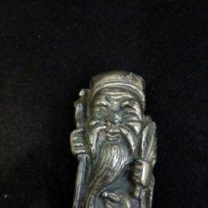 Antigüedades: SABIO ANCIANO CHINO DE PLOMO, VINTAGE AÑOS 40. Lote 100717955