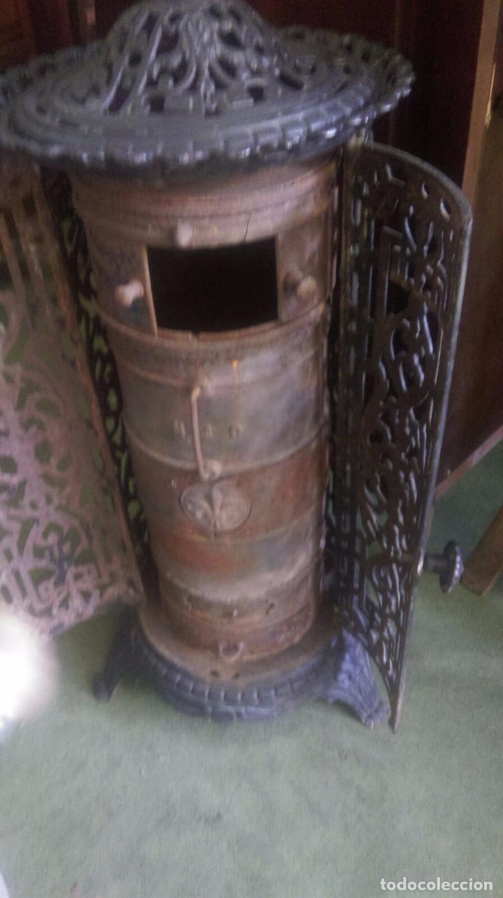 Estufa de hierro y le a antigua comprar utensilios del - Estufa antigua de lena ...
