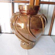 Antigüedades: ANTIGUA TINAJA DE CERAMICA REFLEJO 36 CM.. Lote 100723475