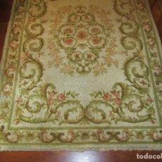 Antigüedades: PRECIOSA ALFOMBRA DE NUDO. Lote 100738263