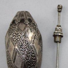Antigüedades: PERFUMERO ORIENTALISTA EN PLATA DEL SIGLO XIX. Lote 100898631