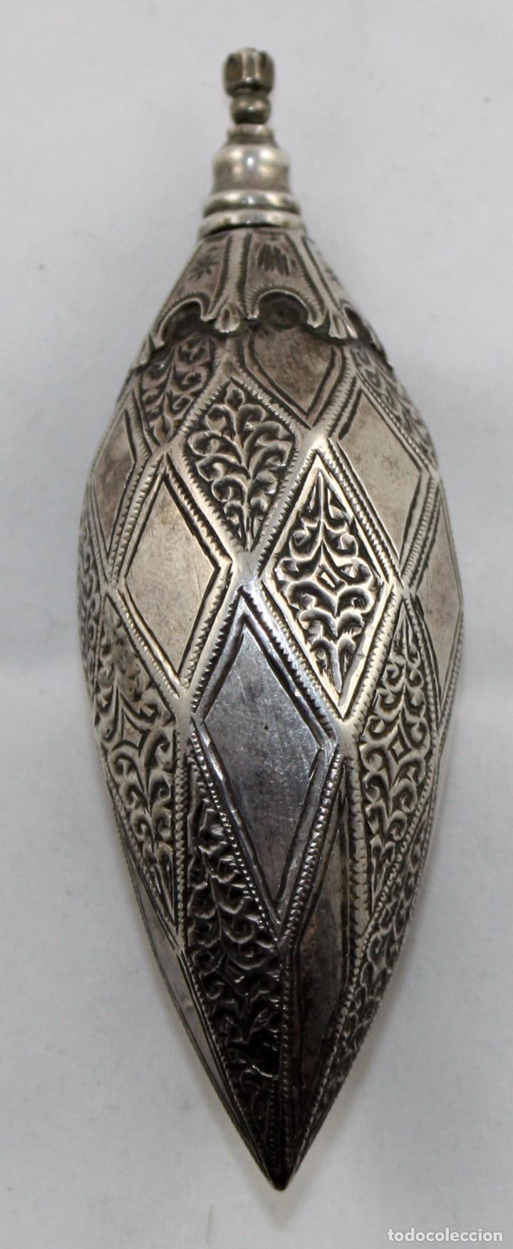 Antigüedades: PERFUMERO ORIENTALISTA EN PLATA DEL SIGLO XIX - Foto 4 - 100898631