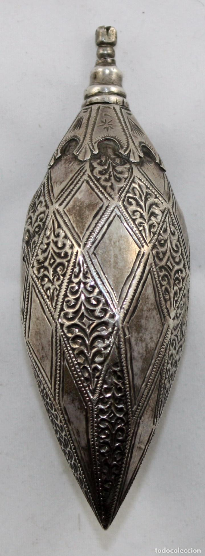 Antigüedades: PERFUMERO ORIENTALISTA EN PLATA DEL SIGLO XIX - Foto 6 - 100898631