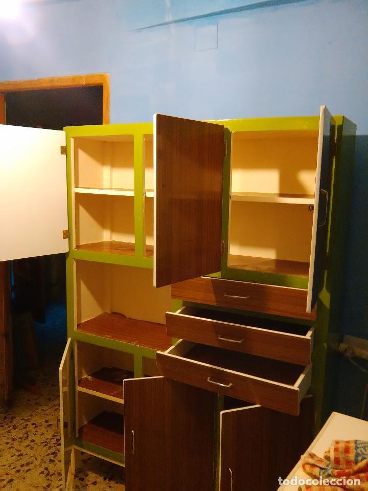 Armario de cocina vintage comprar armarios antiguos en - Armarios de cocina antiguos ...
