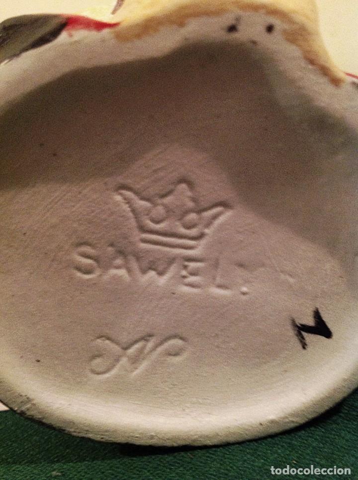 Antigüedades: Jarra De Porcelana Drácula Sellada En La Base SAWELY - Foto 2 - 100996179