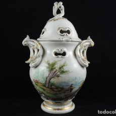 Antigüedades: JARRÓN PORCELANA S.XIX.. Lote 101012663
