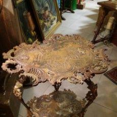Antiquitäten - ESPECTACULAR MESA DE BRONCE - 120009310