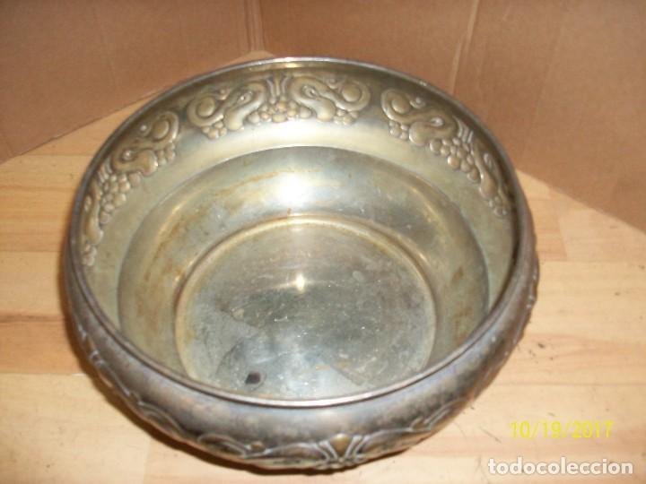 Antigüedades: ANTIGUO CENTRO DE MESA-BRONCE - Foto 3 - 101025911