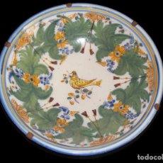 Antigüedades: PLATO LEBRILLO ANTIGUO LOZA CERÁMICA TALAVERA. Lote 101076471