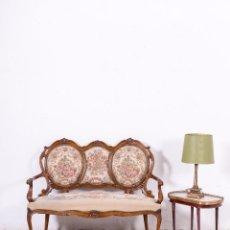 Antigüedades: ANTIGUO TRESILLO ISABELINO. Lote 101083591