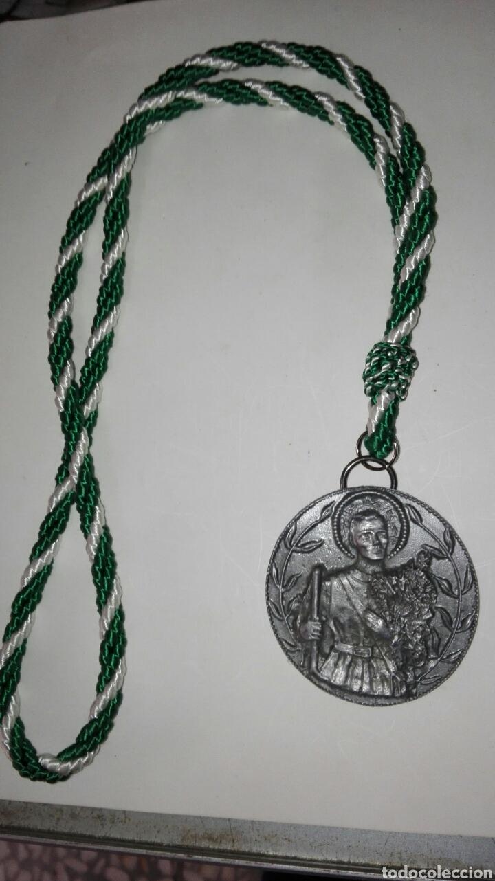 MEDALLA SAN ISIDRO LABRADOR (Antigüedades - Religiosas - Medallas Antiguas)