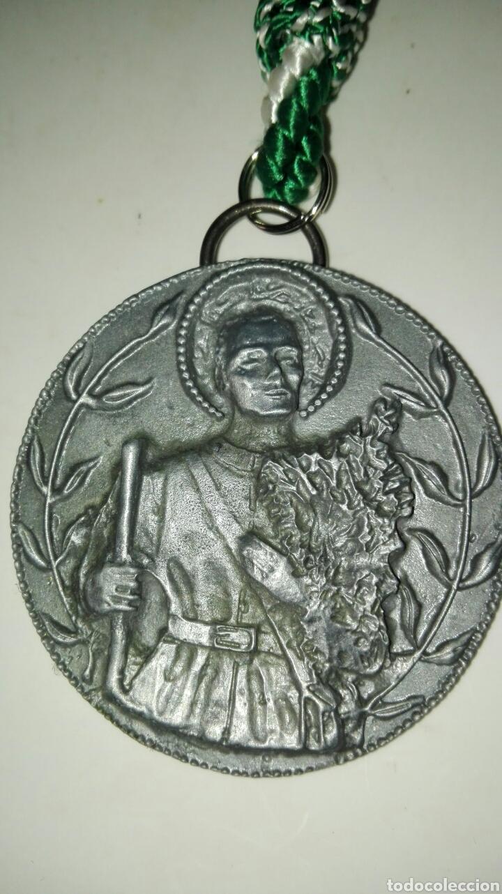 Antigüedades: Medalla san isidro labrador - Foto 2 - 101086694
