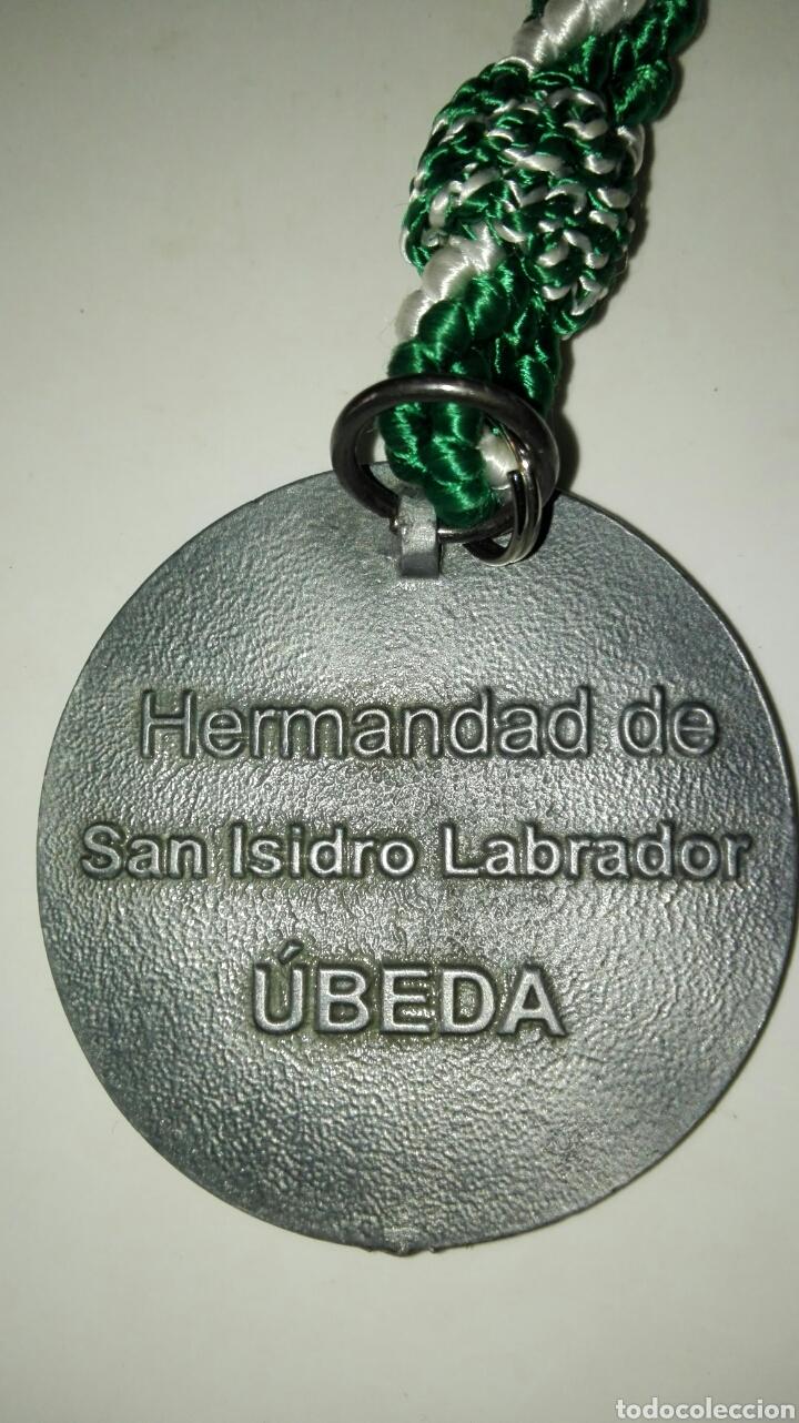 Antigüedades: Medalla san isidro labrador - Foto 3 - 101086694