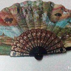 Antigüedades: ABANICO DE LOS AÑOS 70, RECUERDO DE SEVILLA COLECCIÓN TRIANA. Lote 101104495