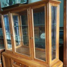 Antigüedades: VITRINA DE ROBLE. Lote 101123987