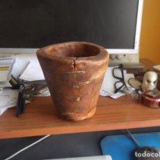 Antigüedades: ANTIGUO MORTERO DE TERUEL LAÑADO. Lote 101127603
