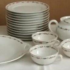 Antigüedades: PORCELANA BIDASOA JUEGO DE CAFE O TE. Lote 101127735