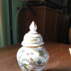 Antigüedades: TIBOR DE PORCELANA CHINA ANTIGUO. Lote 101136676