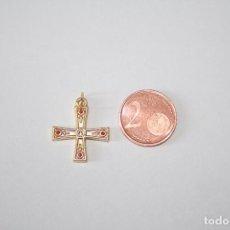 Antigüedades: ÁNGELES *** IMPECABLE COLGANTE CRUZ RELIGION *** TENGO MÁS ARTÍCULOS SIMILARES. Lote 101145615