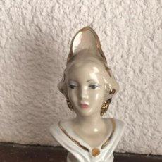 Antigüedades: BONITA FALLERA DE PORCELANA. . Lote 101179779