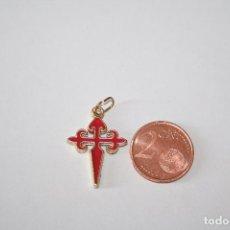 Antigüedades: SANTIAGO *** IMPECABLE COLGANTE CRUZ RELIGION *** TENGO MÁS ARTÍCULOS INTERESANTES . Lote 101181587