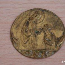 Antigüedades: ANTIGUO ADORNO EN LATÓN JESÚS . Lote 101184287