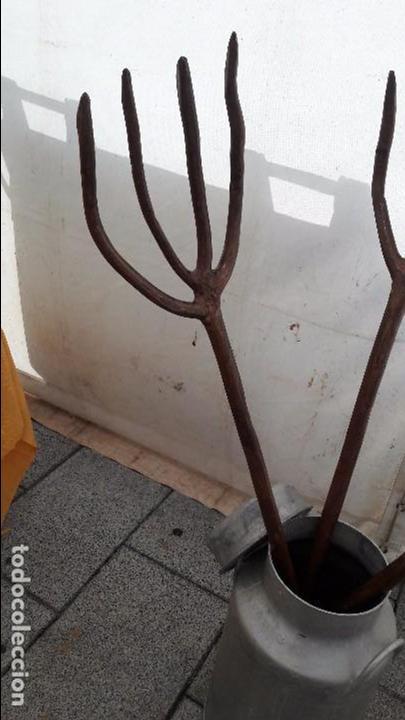 HORCATE , TRINCHA , PAJA , HENO (Antigüedades - Técnicas - Rústicas - Agricultura)